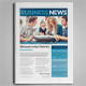 Business Newsletter V1 - GraphicRiver Item for Sale