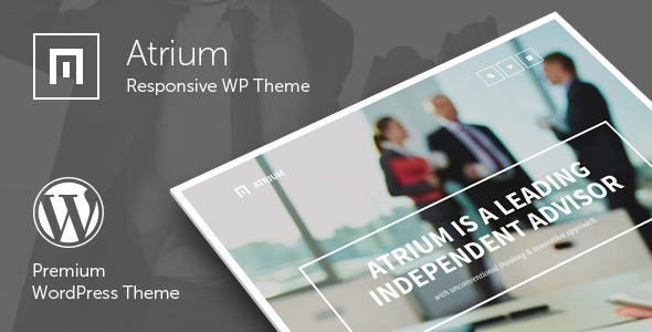 Atrium - Finance Consulting Advisor WordPress Theme
