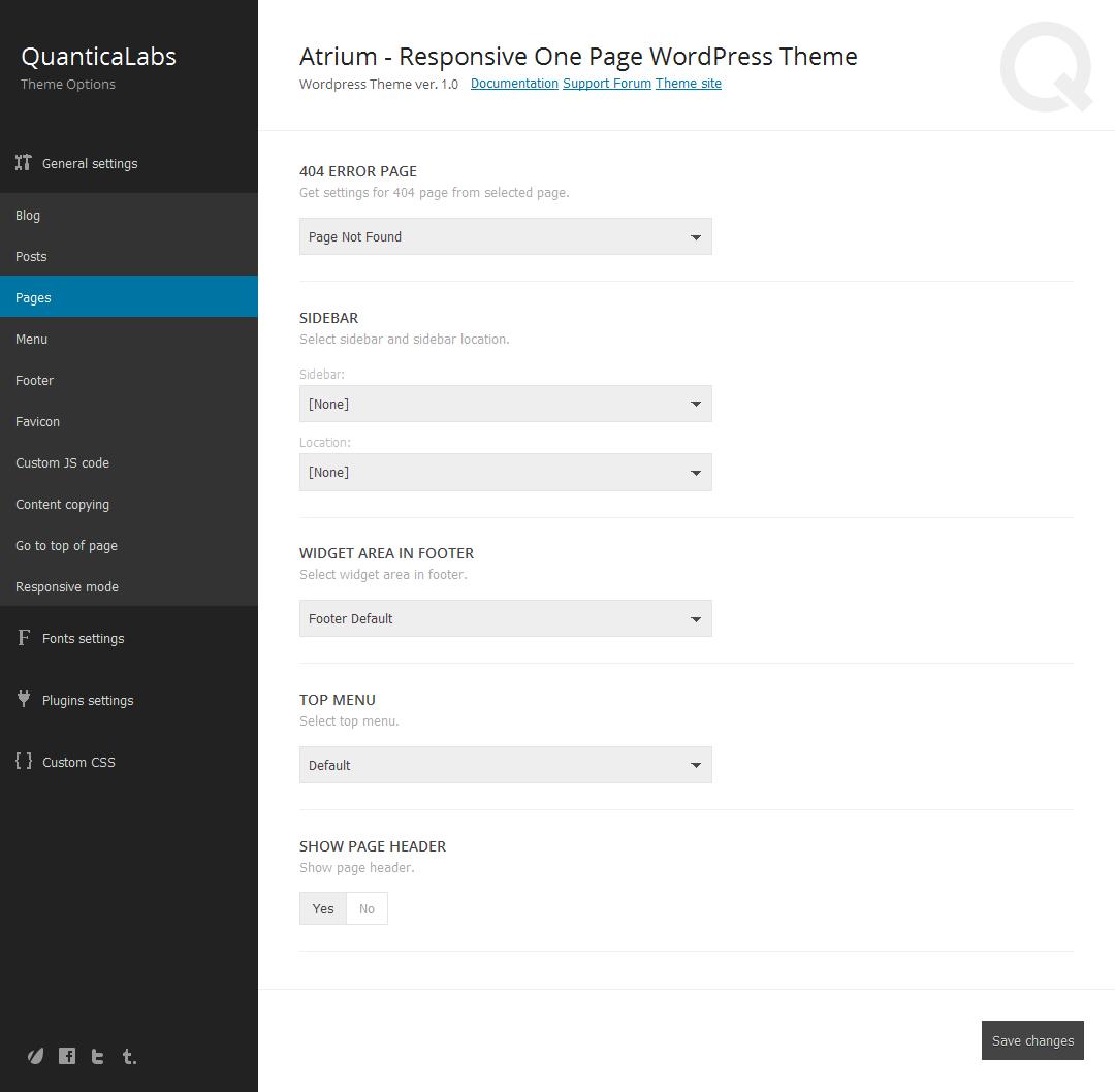 Atrium - Finance Consulting Advisor WordPress Theme