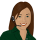 Phone operator - GraphicRiver Item for Sale