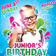 Kids Birthday & Summer Flyer Template - GraphicRiver Item for Sale