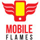 Mobile Flames Smart Phone - GraphicRiver Item for Sale