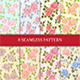 8 Seamless Patterns with Roses - GraphicRiver Item for Sale