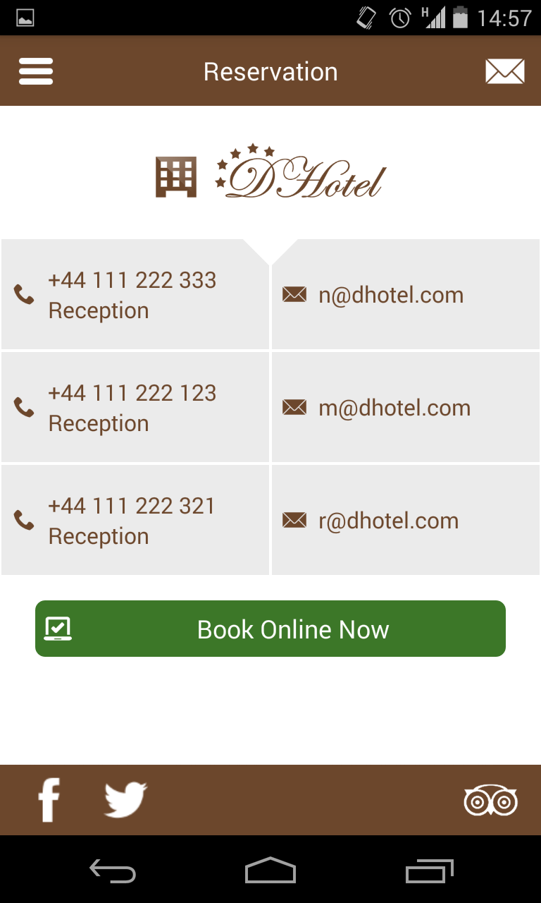 Android Hotel App By Dmbteam Codecanyon