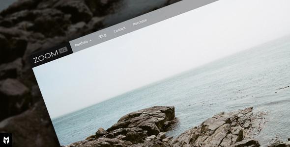 Free Download Zoom: WordPress Photography Portfolio + Blog Nulled Latest Version