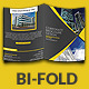 Portolio Corporate Bi-Fold Brochure Template - GraphicRiver Item for Sale