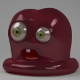 Red Jelly Monster - 3DOcean Item for Sale