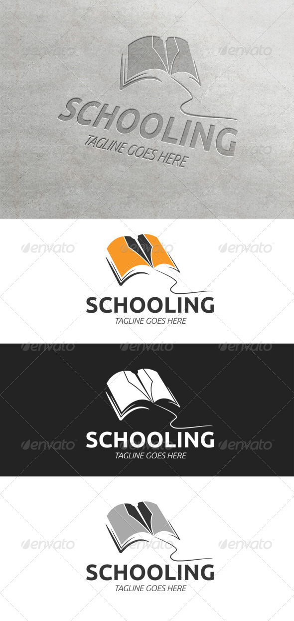 Schooling Logo Template