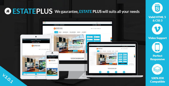 Estate Plus – Responsive Real Estate WP Theme