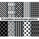 10 Seamless Monochrome Patterns - GraphicRiver Item for Sale