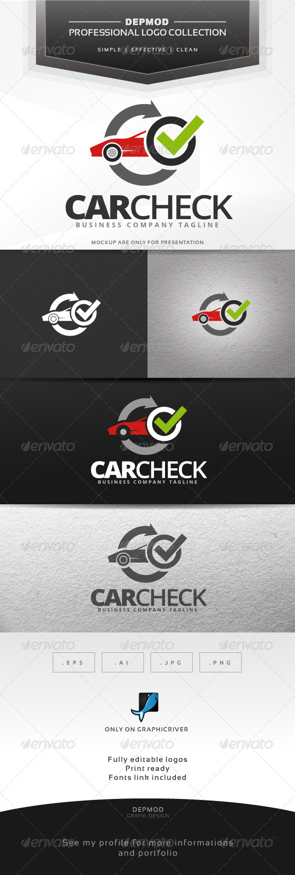 Car Check Logo
