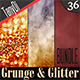 Grunge & Glitter Backgrounds | Bundle - GraphicRiver Item for Sale
