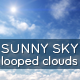 Sunny Sky and Clouds - VideoHive Item for Sale