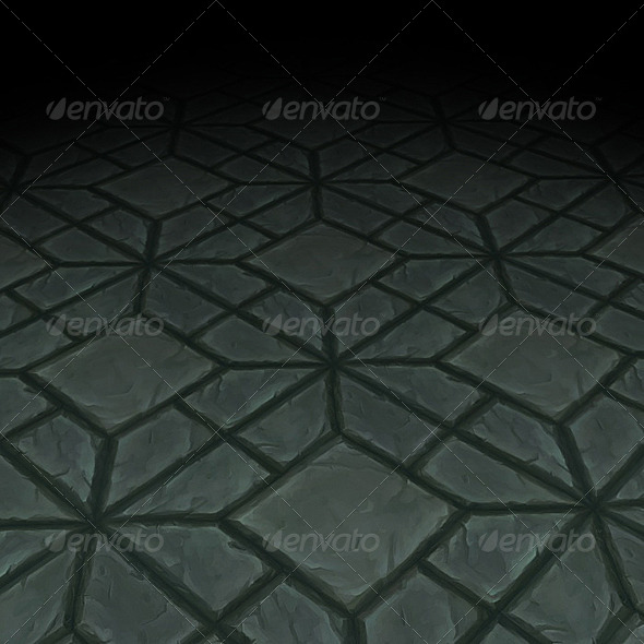 Stone Floor Texture Tile 10 - 3DOcean Item for Sale