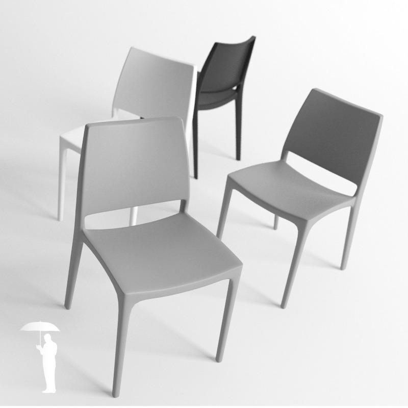 Zuiver maya chair by konradrakowski 3docean for Chair 3d model maya