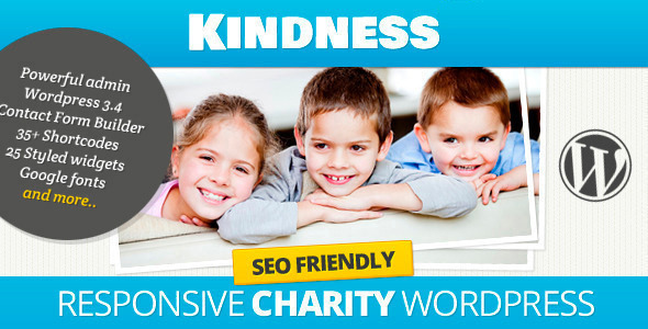 Kindness – Premium WordPress Theme