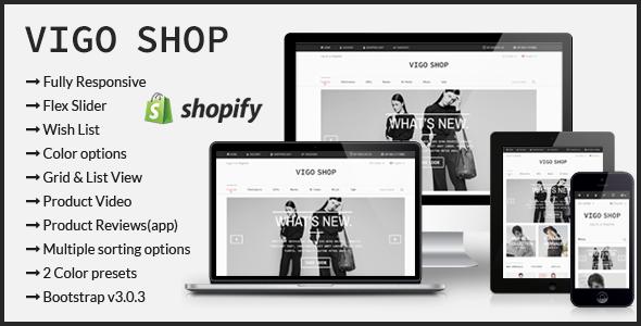 Vigo Shop – Responsive Shopify Theme