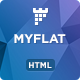 MYFLAT - Real Estate HTML Landing Page - ThemeForest Item for Sale