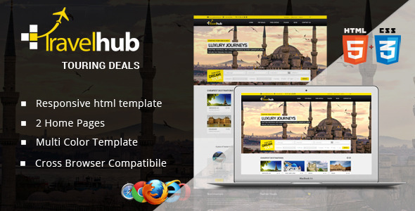 Travel Hub – Touring Packages – HTML Template