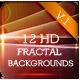 12HD Fractal Backgrounds V1 - GraphicRiver Item for Sale