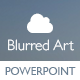 Blurred Art - Creative Powerpoint Template - GraphicRiver Item for Sale