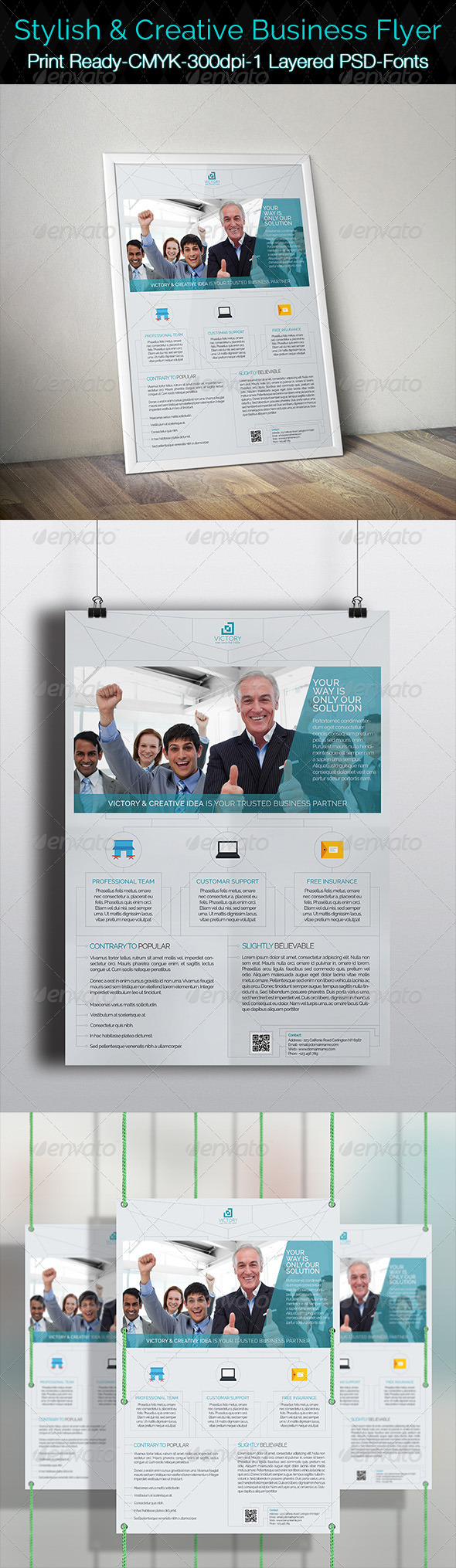 Stylish & Creative Business Flyer - Corporate Flyers