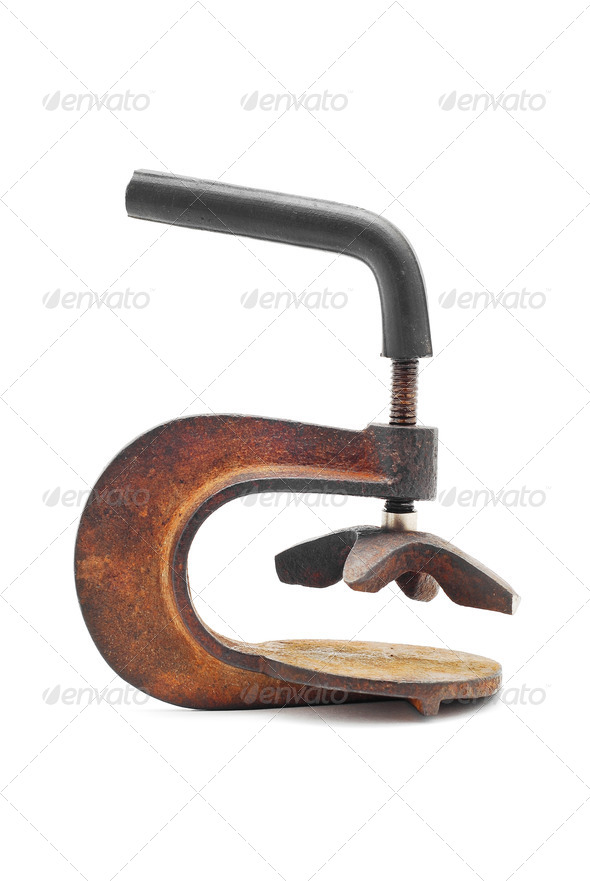 old clamp - Stock Photo - Images