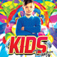 Kids Party Flyer Template v.3 - GraphicRiver Item for Sale