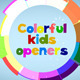 Colorful Flat Kids Openers - VideoHive Item for Sale