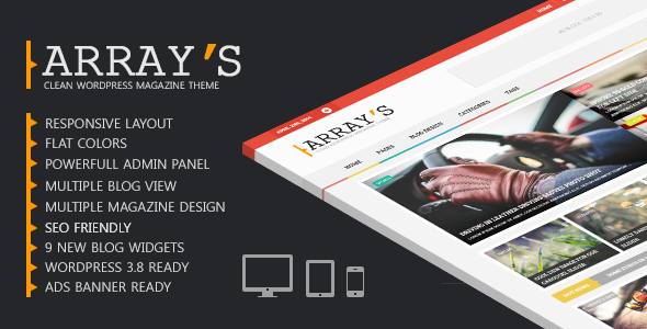Arrays – Flat Magazine WordPress Theme