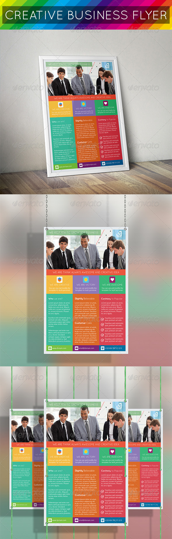 Fresh & Creative Business Flyer - Corporate Flyers