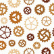 Different Gearwheels Seamless Background - GraphicRiver Item for Sale
