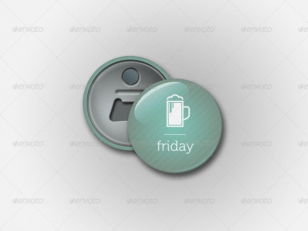 Button badge mockup bundle by zarins graphicriver for Envato graphicriver