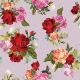 Seamless Floral Pattern with Roses - GraphicRiver Item for Sale