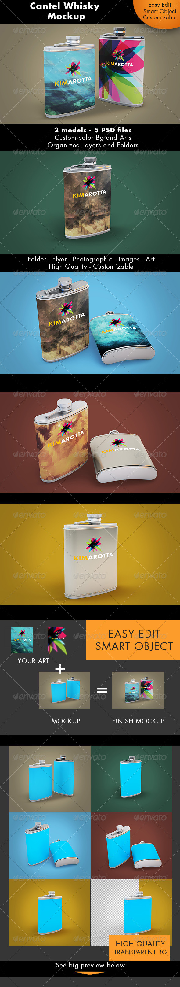 Cantel Mockup - Miscellaneous Product Mock-Ups