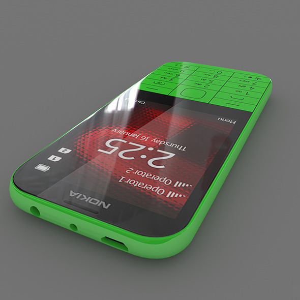 Nokia 225 - 3DOcean Item for Sale
