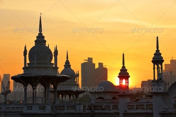 Sunrise in Kuala Lumpur - Stock Photo - Images