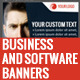 Business and Software Banners - GraphicRiver Item for Sale