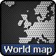 World Map Triangles - GraphicRiver Item for Sale