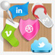 Cute Social Icons - GraphicRiver Item for Sale