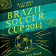Brazil Soccer Cup Flyer Templates - GraphicRiver Item for Sale