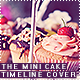 The mini Cake Timeline Cover - GraphicRiver Item for Sale
