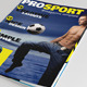 25 Pages Sport Magazine Vol51 - GraphicRiver Item for Sale