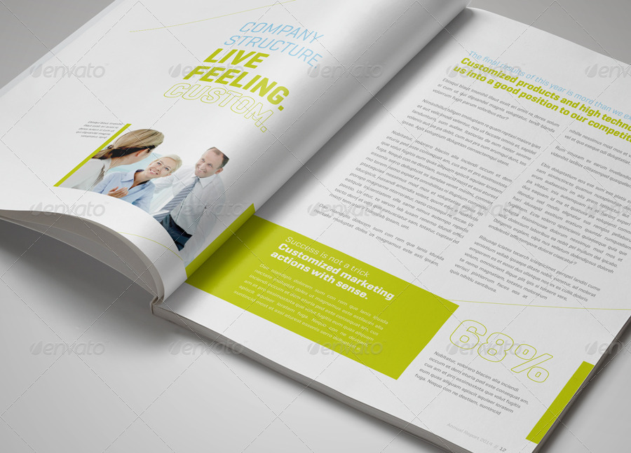 annual report xcross a4 and us letter size by egotype graphicriver