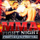 MMA Fight Night Flyer Template - GraphicRiver Item for Sale