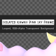 Isolated Kawaii Pink Sky Frame - VideoHive Item for Sale