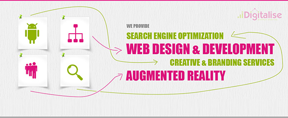 Idigitalise web design