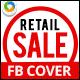 Retail Sales Facebook Cover