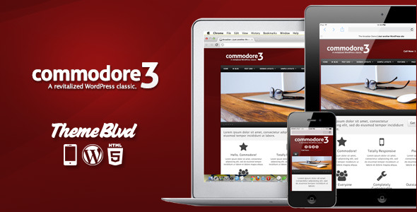 Free Download Commodore Responsive WordPress Theme Nulled Latest Version