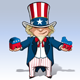 Uncle Sam Republican & Democratic - GraphicRiver Item for Sale